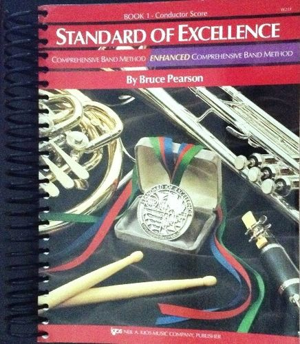 STANDARD OF EXCELLENCE BOOK.1 - CONDUCTOR SCORE