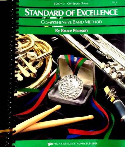 STANDARD OF EXCELLENCE - COMPREHENSIVE BAND METHOD - BOOK.3 - CONDUCTOR SCORE